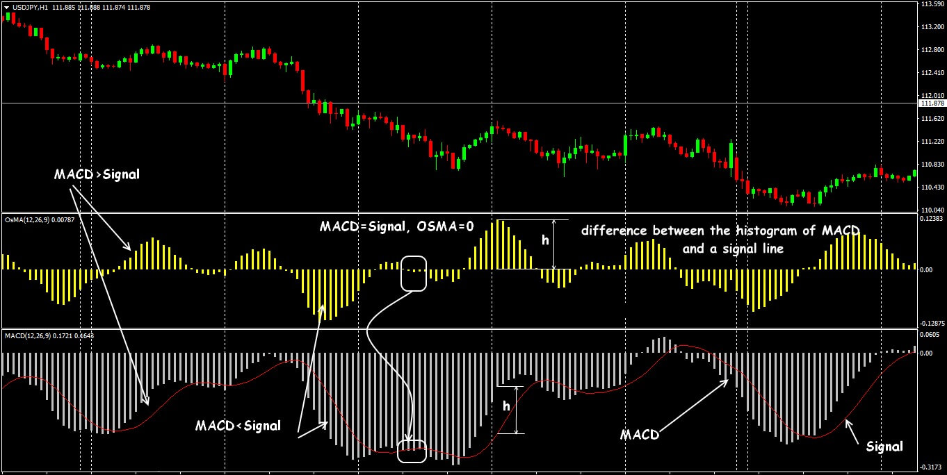 General view of the indicator Moving Average of Oscillator
